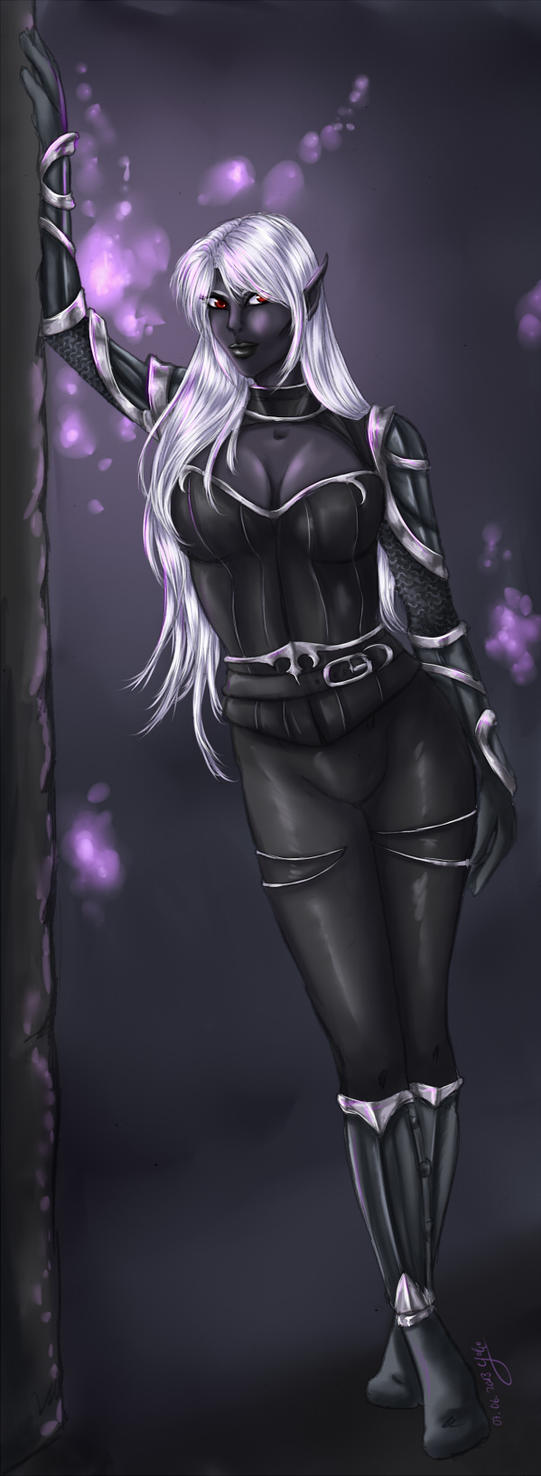 Commission: Drow by Yako