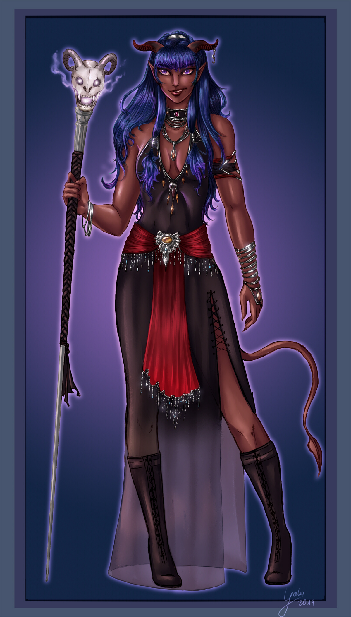 Tiefling Warlock By Yako On Deviantart In dungeons & dragons, warlocks are unique casters that allow for a lot of customization and options for different builds. tiefling warlock by yako on deviantart