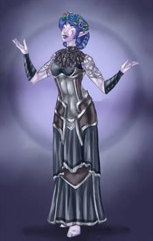 Sketch Commission: Night Elf Druid