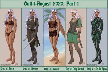 Outfit August 2020: Part 1