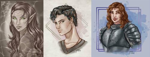 Sketch Busts September 2020