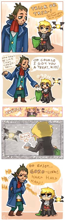 Happy halloween Link