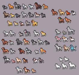 bleach doggies pixelversion