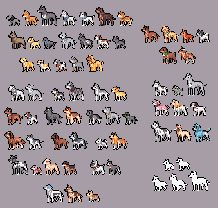 bleach doggies pixelversion by emlan