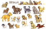 Hetalia dogs by emlan