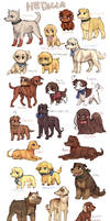 Hetalia dogs II by emlan