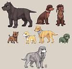 BERSERK dogs