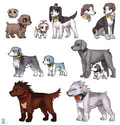 PW dogs II by emlan