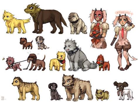 Dorohedoro doggies
