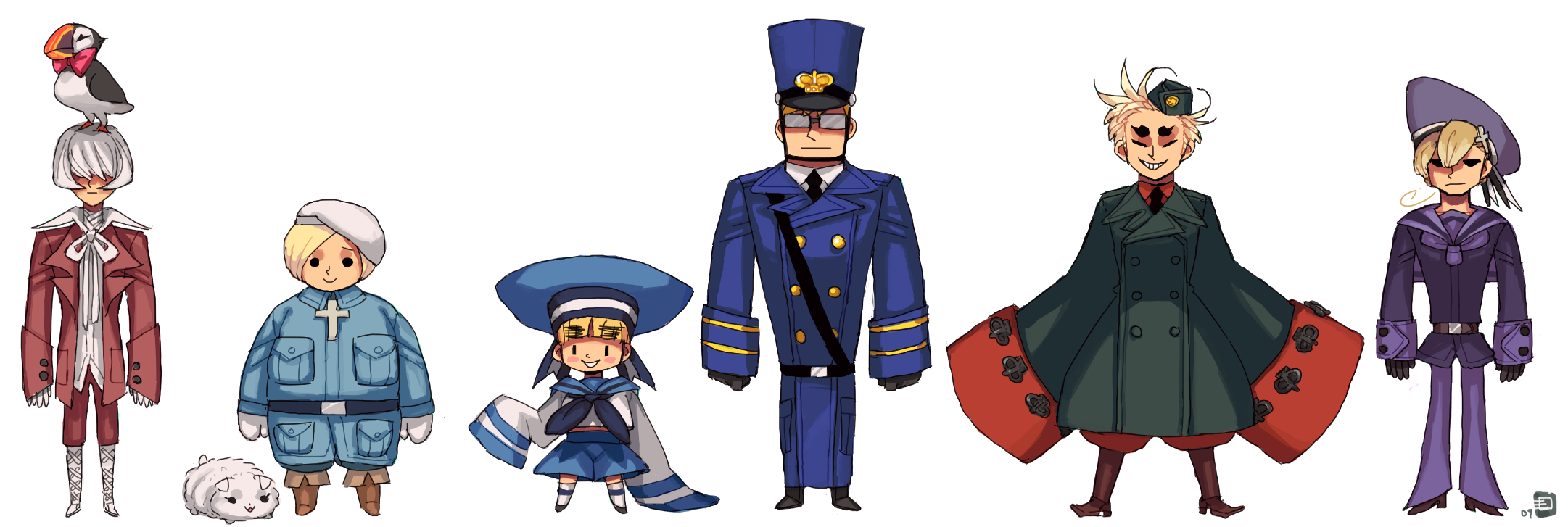 Tweaked Nordics by emlan on DeviantArt
