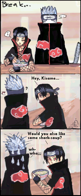 Naruto comic strip