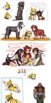 FFVII dog bonus by emlan