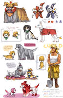 FFIX dog bonus by emlan