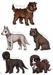 Leftover Hetalia Dogs II