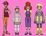 Gijinka - MLP girls