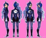 Gijinka - MLP Luna concept