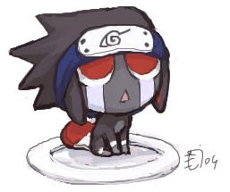 TT_TT sasukemon by emlan