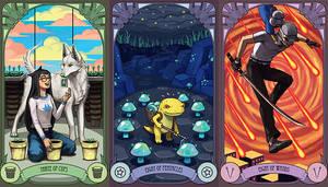 Homestuck Tarot Cards - emlan's