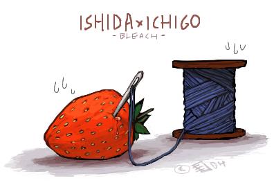 Juicy Ishida x Ichigo by emlan