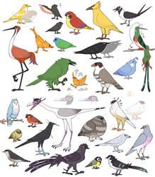bird pedals
