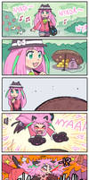 Nyaa's walk in the park by emlan