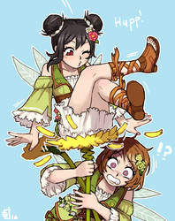 flowers only good enough for nicos tush by emlan