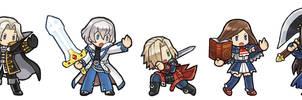 Castlevania Heroes Lineup