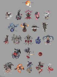 Bloodborne Bosses by emlan