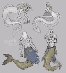 Princes under the sea by emlan