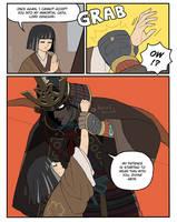 Kuro in trouble