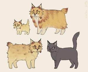 Rengoku Cat Concepts