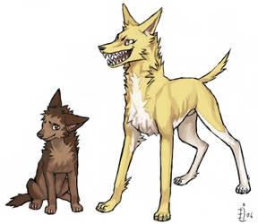 ES doggies by emlan