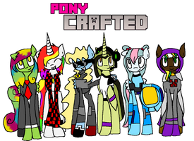 Pony Crafted (With the Logo) by AlicornOverlord