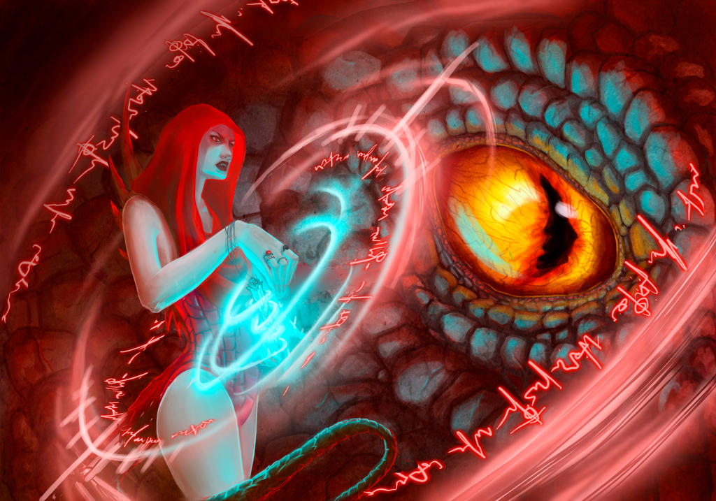 Dragon Magic By Natsu Lu On DeviantArt