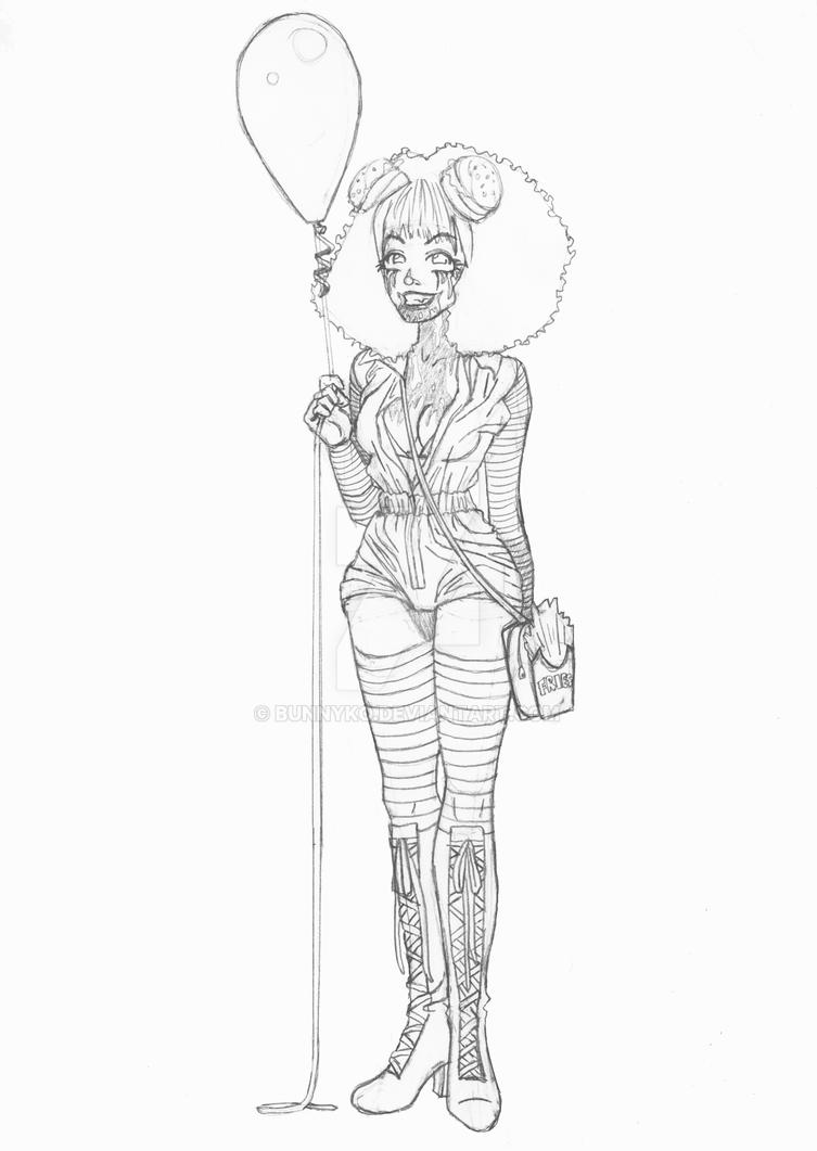 Kate Clown by Bunnyko