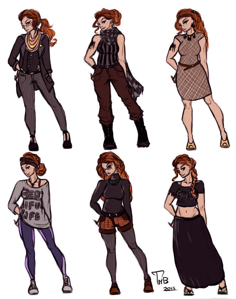 Wardrobe Challenge by MikoKristy