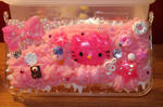 Decoden Hello Kitty 3DS XL Case by KikiSuBunny