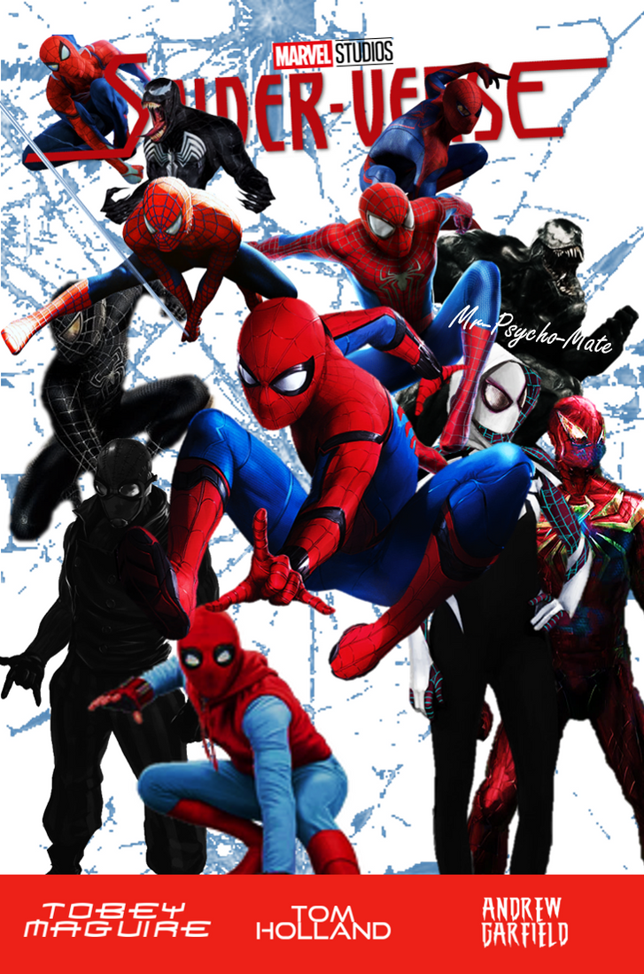 spider verse poster
