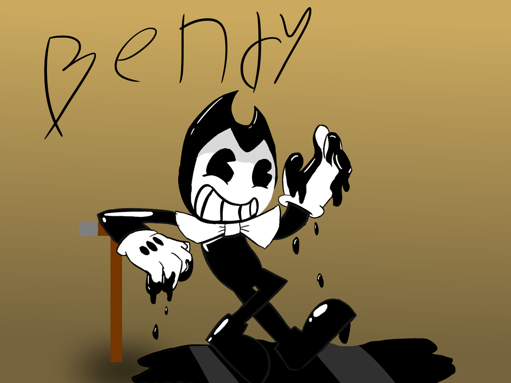 Bendy The Little Ink Demon by NA-1019-the-droid