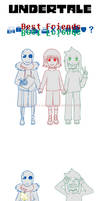 Undertale Comic ~Best Friends~ by vanillaxbiscuit