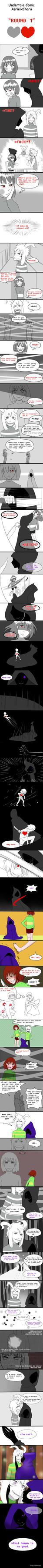 Undertale Comic Chasriel: Round 1 by vanillaxbiscuit