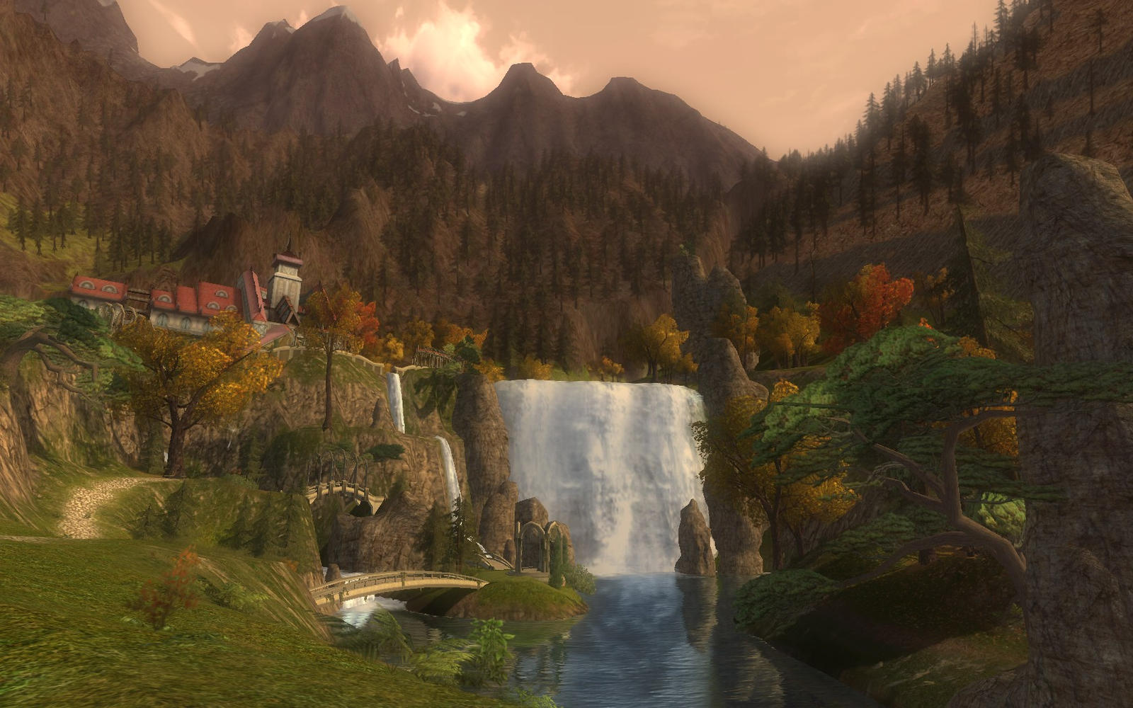 lord of the rings 2 how to get into rivendell