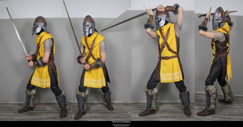 Skyrim Guard 1 by DaeStock