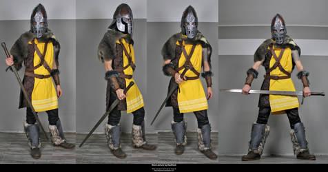 Skyrim Guard 5 by DaeStock