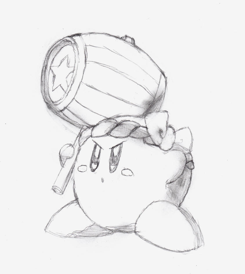 Free coloring pages kirby