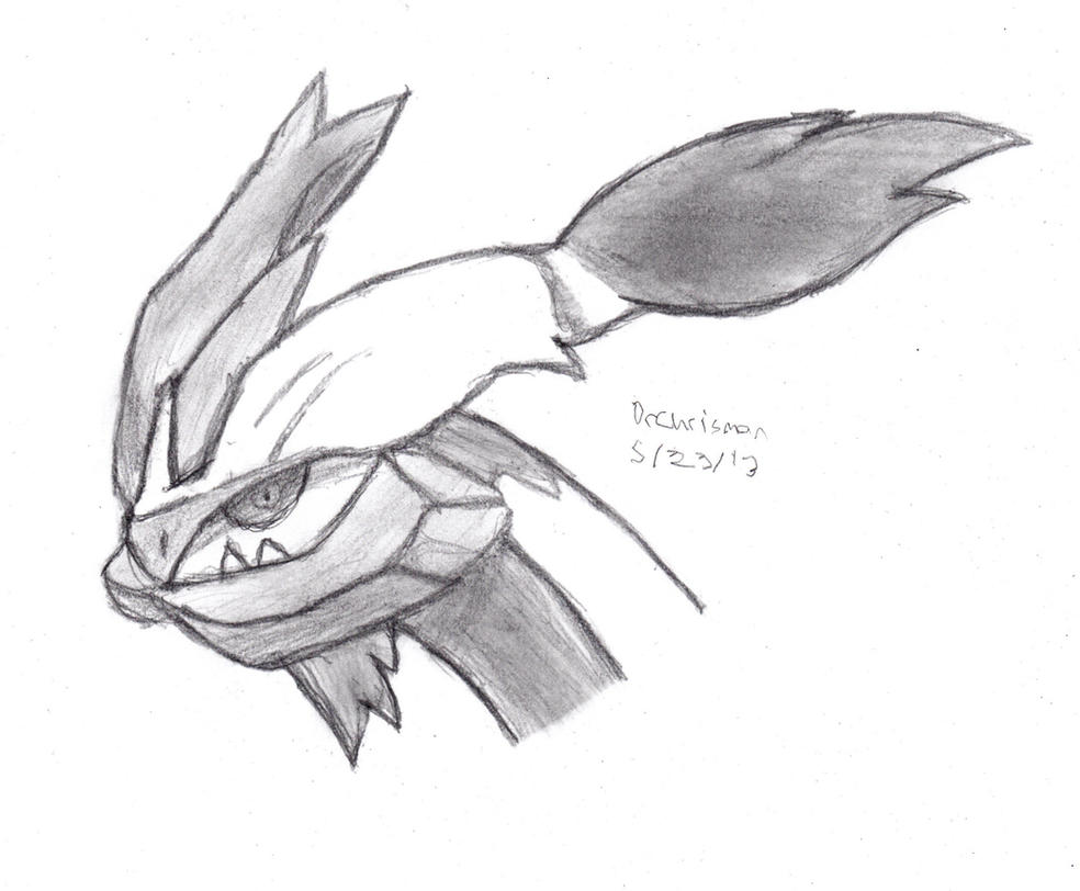 White Kyurem by DrChrisman