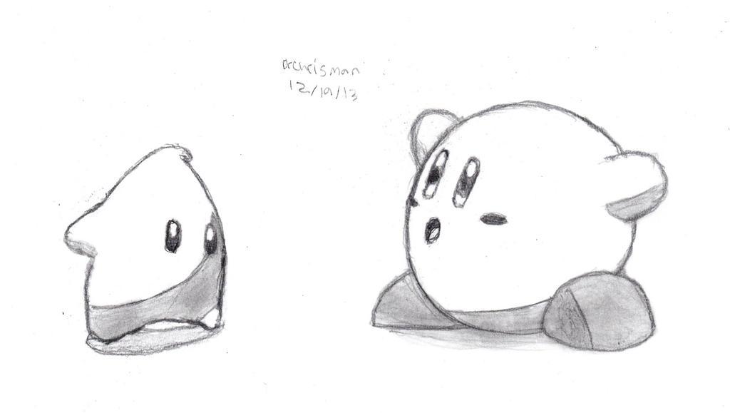 Luma and Kirby by DrChrisman