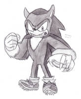 Sonic the Werehog by DrChrisman