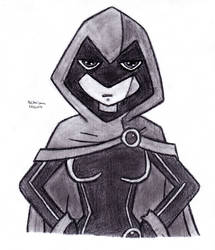 Hands on Hips Raven by DrChrisman