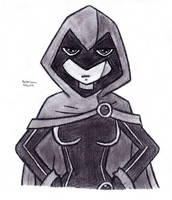 Hands on Hips Raven by DrChrisman